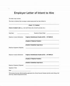 Sample Letter Of Intent To Hire Employee Free 47 Sample Letter Of Intent In Pdf Ms Word Pages