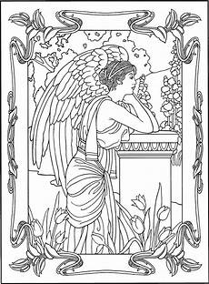 Kostenlose Malvorlagen Engel Coloring Page Coloring Pages For Adults
