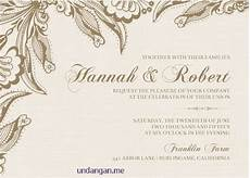 27 contoh undangan pernikahan bahasa inggris unik