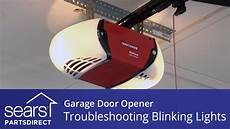 Garage Door Light Blinking Won T Open Garage Door Won T Close Lights Blink 10 Times Youtube