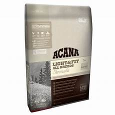 Acana Light Dog Food Acana Light Amp Fit Dry Dog Food At Zooplus