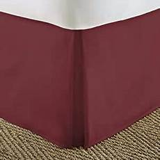 california king size pleated bed skirt dust