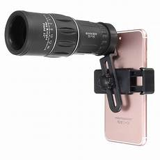 Magnification 16x52 Telescope Telephoto Lens With by Us 16x52 Zoom Hiking Phone Lens Telescope Monocular