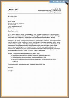 Resume Cover Letter Sample For Administrative Assistant Job Pin On Administrative Assistant Cover Letter Examples