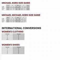 Michael Kors Shoes Size Chart Cm Buy Michael Kors Size Chart Gt Off69 Discounted