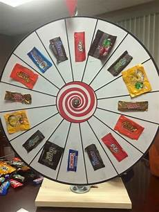 Diy Prize Wheel Candy Prize Wheel Would Be Fun To Have Other Types Of