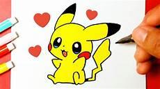 desenho fofos como desenhar o pikachu pok 233 mon fofo e f 225 cil desenhos