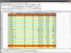 Bom List Format Bom Bill Of Materials In Excel Youtube