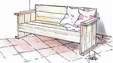 come costruire una panchina in legno panca in legno fai da te