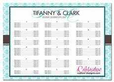 Table Seating Chart For Wedding Reception Template Sample Seating Chart For Wedding Reception