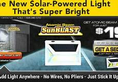 Atomic Beam Sunblast Solar Powered Led Light Reviews Freakin Reviews Great Freakin Reviews