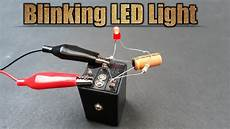 How To Make Rope Lights Blink How To Make A Blinking Led Light Using 12v Relay And