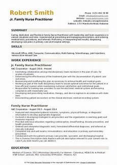 Nurse Practitioner Resume Family Nurse Practitioner Resume Samples Qwikresume