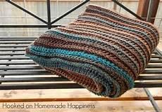 easy all half crochet afghan hooked on