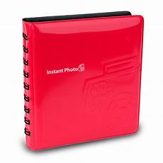 Red Photo Albums Fujifilm Instax Mini Album Red