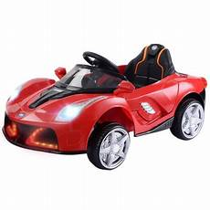 12v Rc Led Lights Battery Powered Kids Riding Car 12v Battery Powered Kids Ride On Car Rc Remote Control W