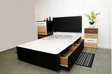 new single king size divan bed base storage