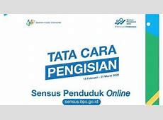 Cara Mengisi Data Sensus Penduduk Online di sensus.bps.go