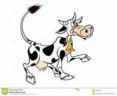 Malvorlage Lustige Kuh Lustige Kuh Vektor Abbildung Illustration Clip