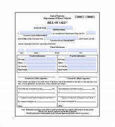 Example Of A Vehicle Bill Of Sale Car Bill Of Sale 10 Free Sample Example Format
