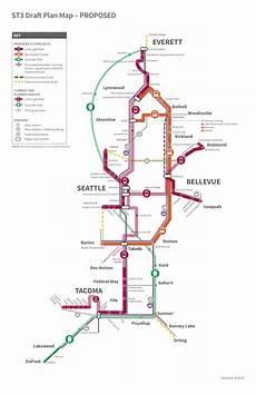 Day Pass Seattle Light Rail Sound Transit S 25 Year Plan 50 Billion Lean Into Light