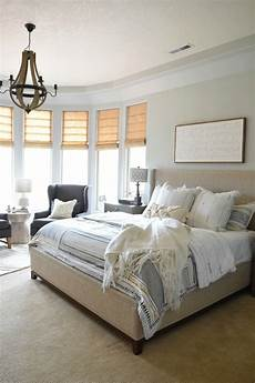 Light Gray Bedroom Modern Home Refresh With Simply White Paint Nesting With