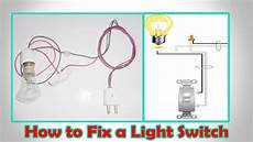How To Fix Dome Light Switch How To Fix A Light Switch Light Switch Wiring Youtube
