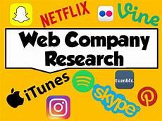 Company Research Web Company Research