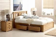 wimbledon solid oak storage bed 5ft king size the oak