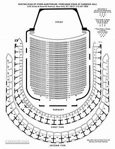 Weill Hall Carnegie Hall Seating Chart Isaac Stern Carnegie Hall Seating Chart New York City