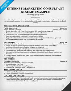 Internet Marketing Resumes Sample Executive Of Marketing Resume Images Frompo