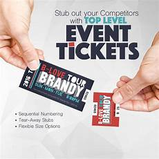 Event Raffle Tickets Raffle Event Tickets Color Service Printing Amp Graphics