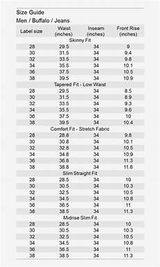 Buffalo Jeans Womens Size Chart Notify Me Buffalo Jeans Size Chart Png Image