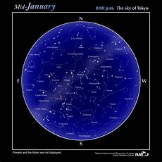 Star Chart Astronomy Android Star Chart Naoj National Astronomical Observatory Of