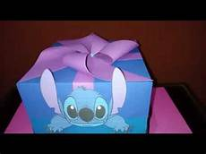 caja explosiva stitch