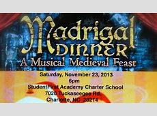 Madrigal Dinner Theater Tickets in Charlotte, NC, United