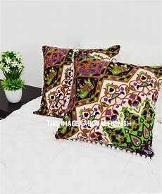Sofa Pillows Decorative Sets Brown 3d Image by 3d Decorative Pom Pom Throw Pillow Cover Set Of 2