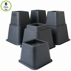 evelots bed furniture risers 3 5 or 8 inch higher more