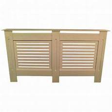 horizontal grill unfinished radiator cover large