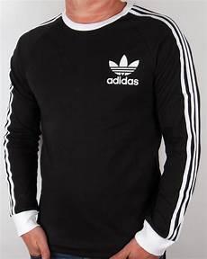 adidas sleeve shirt adidas originals adicolour sleeve t shirt black white