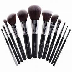 buy masterful collection onyx black make up brush set