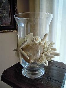 candele con conchiglie biancafiore vasi porta candele