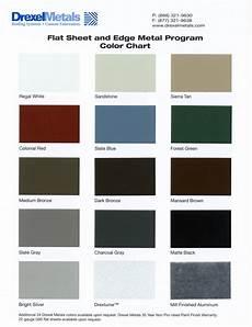 Firestone Sheet Metal Color Chart Jet Metals Color Charts