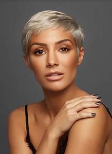 kurzhaarfrisuren 2018 bilder blond pin on haircuts