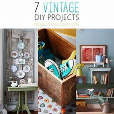 7 vintage diy projects for your home the cottage market