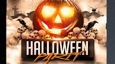 Halloween Flyers Templates Free Halloween Party Flyer Template Free For Photoshope Youtube