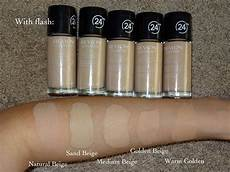 Revlon Colorstay Undertones Chart Beautyfashionfever Revlon Colorstay 24h Foundation