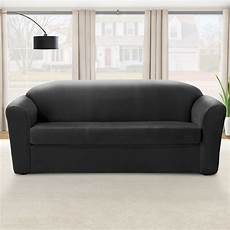 Fitted Slipcovers For Sofa 3d Image by Sure Fit Eastwood Stretch Sofa Slipcover Walmart Canada