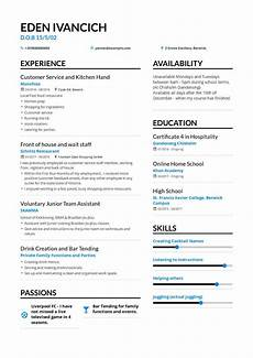 Resume Format For Teenagers The Best 2019 Fresher Resume Formats And Samples