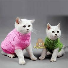 cat clothes for new spagetti color warm cat sweater pet jumper cat clothes